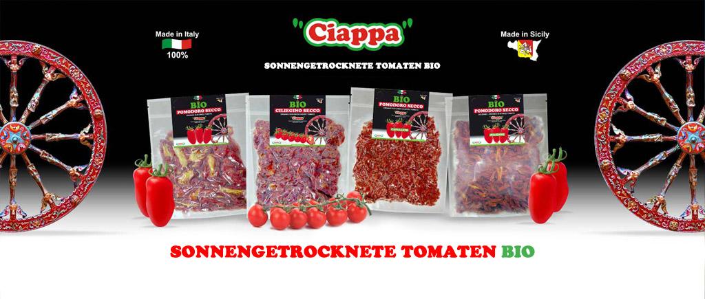Sonnengetrocknete Tomaten BIO