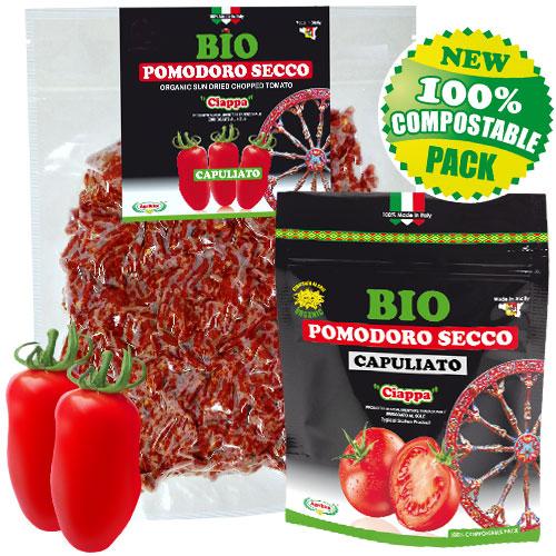 CAPULIATO - Sonnengetrocknete Tomaten Gehackt 100% ORGANISCHEN SIZILIEN - JETZT KAUFEN