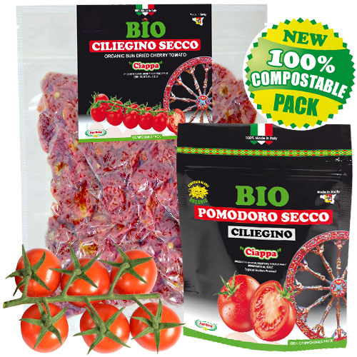 Sonnengetrocknete Kirsch Tomaten 100% ORGANISCHEN SIZILIEN - JETZT KAUFEN