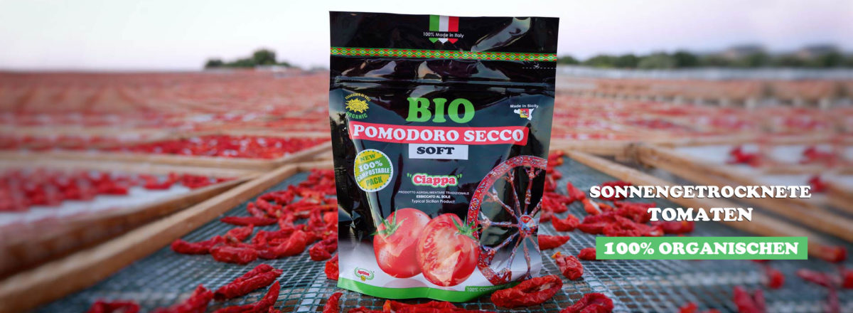 Sonnengetrocknete tomaten - Sizilien organischen
