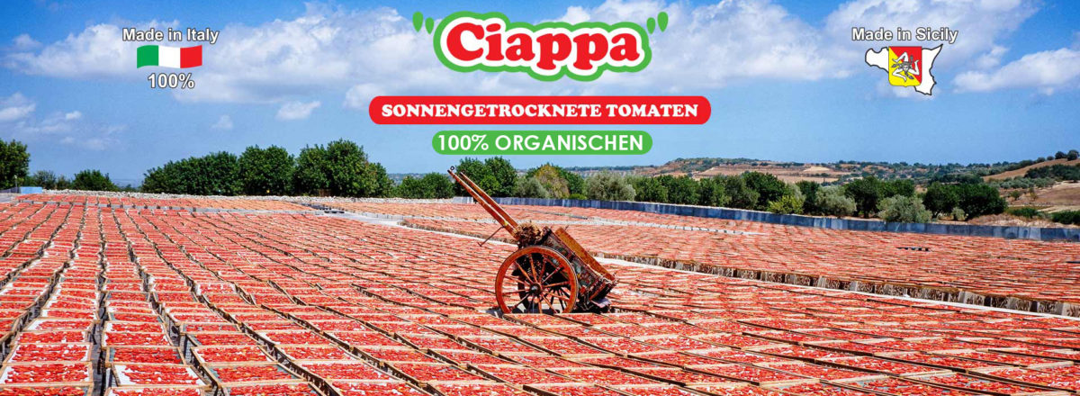 Sonnengetrocknete tomaten organischen - SICILIEN